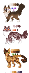 Name/Personality Adopt 9 Owlpaw Set SOLD by leafstep