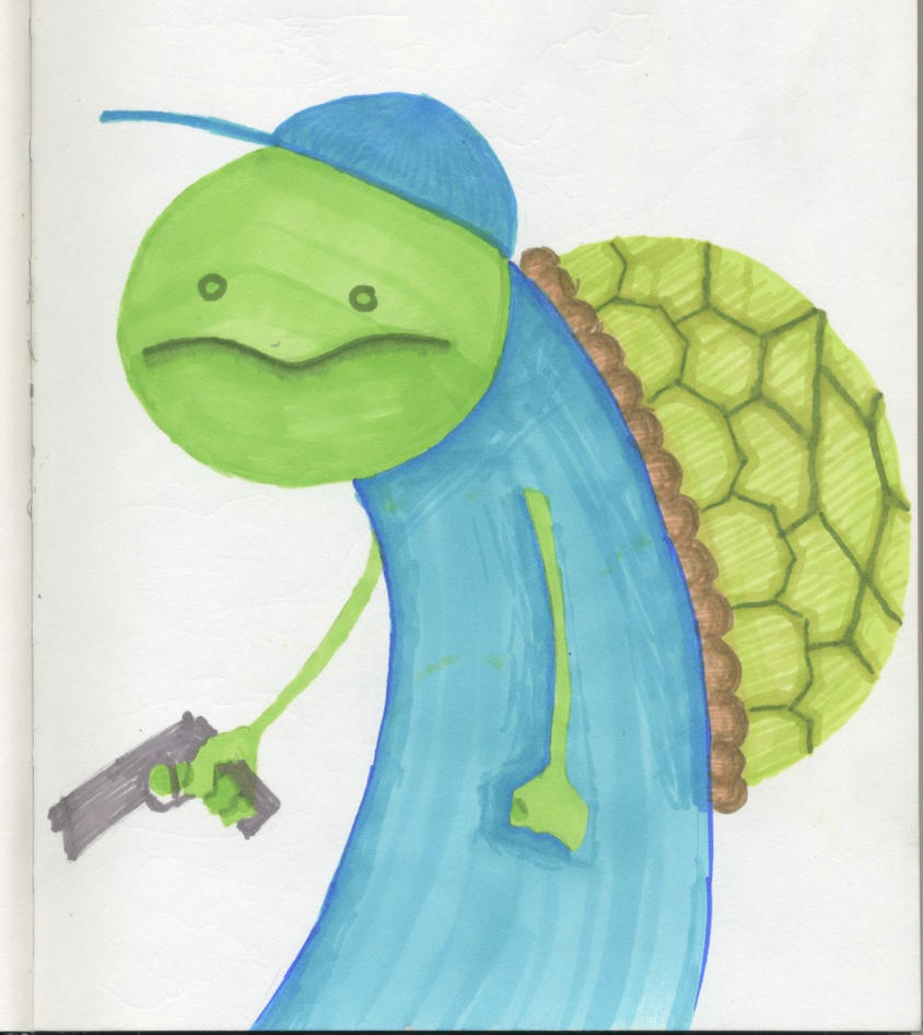 Turtle Thug By Krook415 On DeviantArt