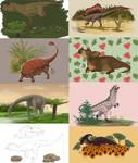 Dinosaurs everywhere !