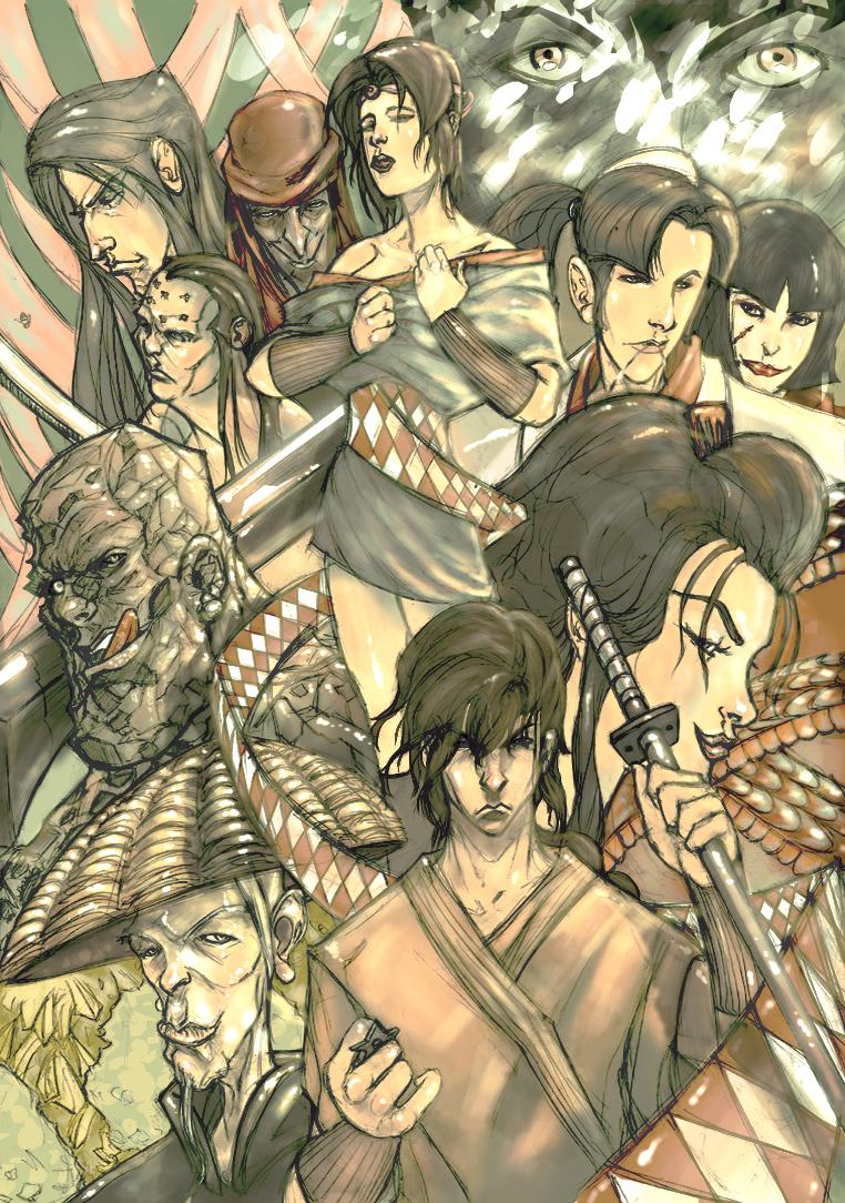 Ninja Scroll By Kojimas On Deviantart