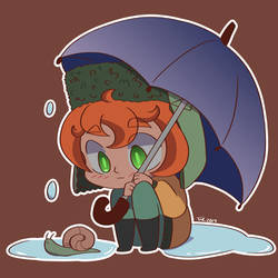 Kyle in the rain by unadulteratedvoidtyp
