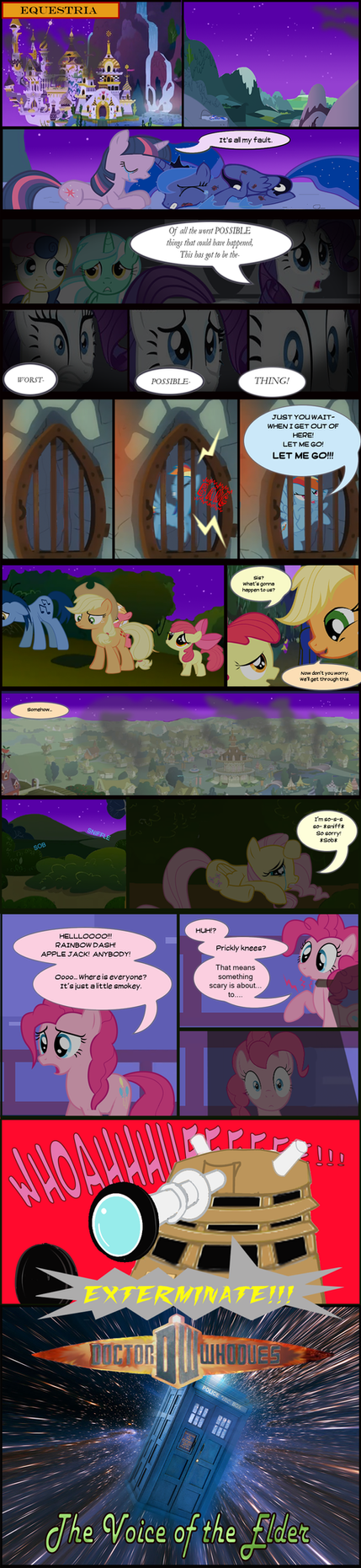 Doctor Whooves: Elder Page 1 by ShwiggityShwah