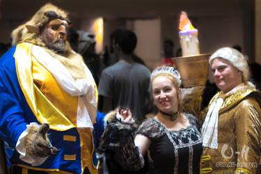 Dragon Con 2013: Beauty and The Beast by ShwiggityShwah