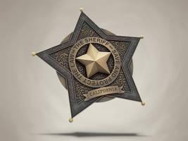 Sheriff badge by samuraydesign
