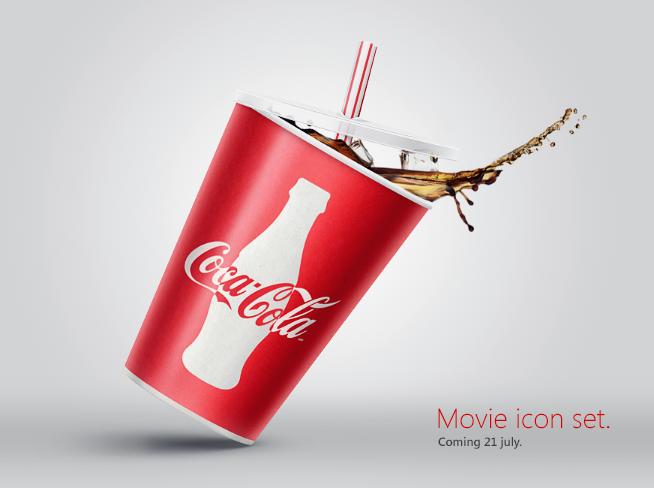 Banner for movie icon set. by samuraydesign