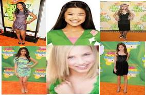 Six New Female Nick Stars by NickelodeonLover