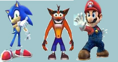Top 3 Video Game Icons by NickelodeonLover