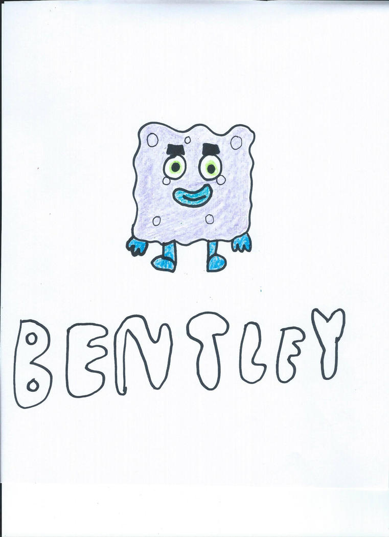 Bentley The Moshling Drawing by NickelodeonLover