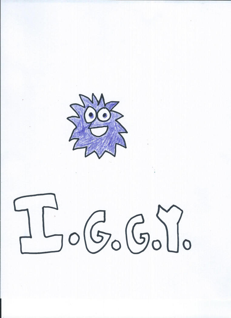 I.G.G.Y. The Moshling Drawing by NickelodeonLover