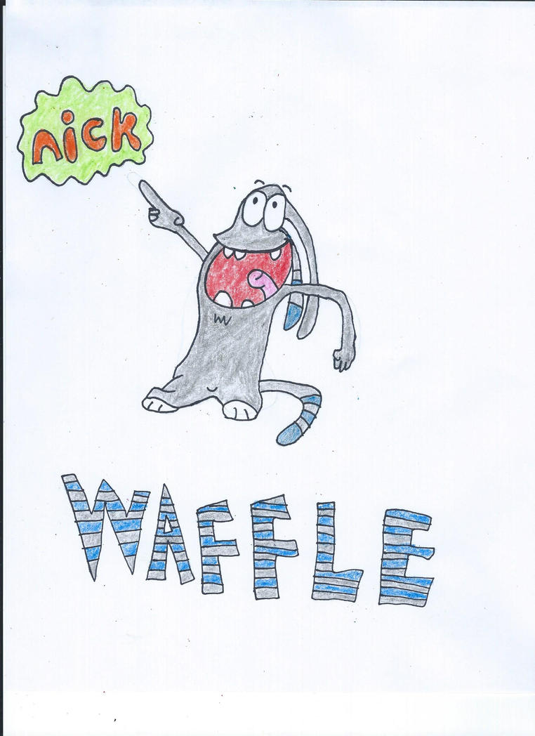 Waffle Drawing by NickelodeonLover