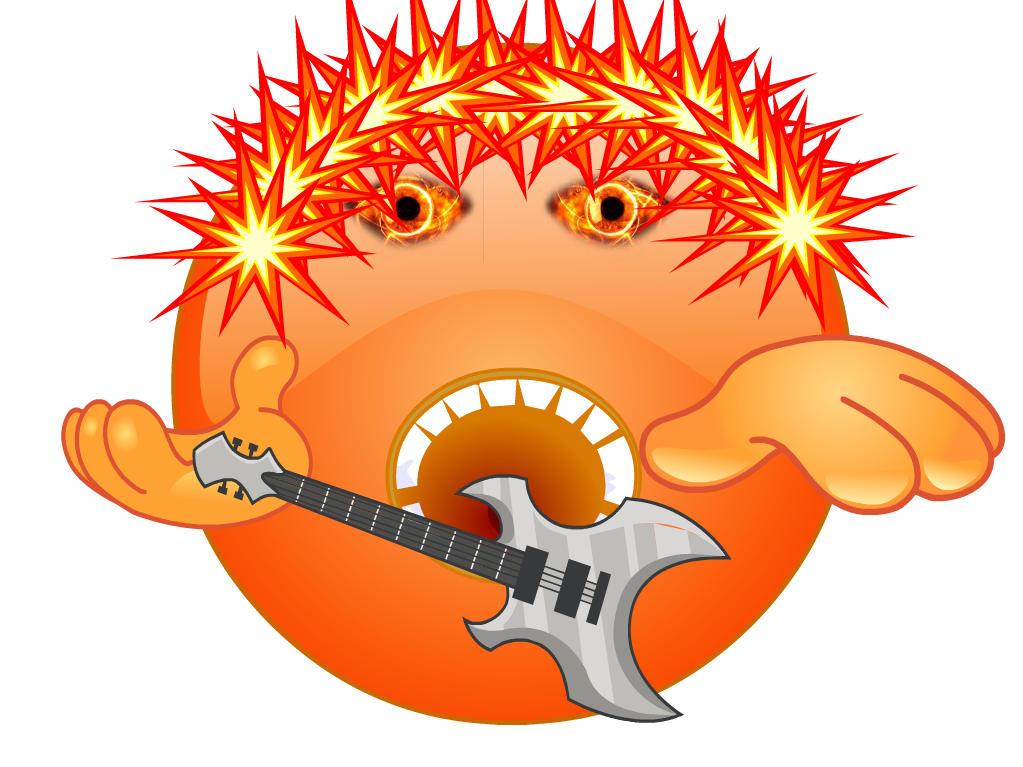 Rock Star Emoji by NickelodeonLover