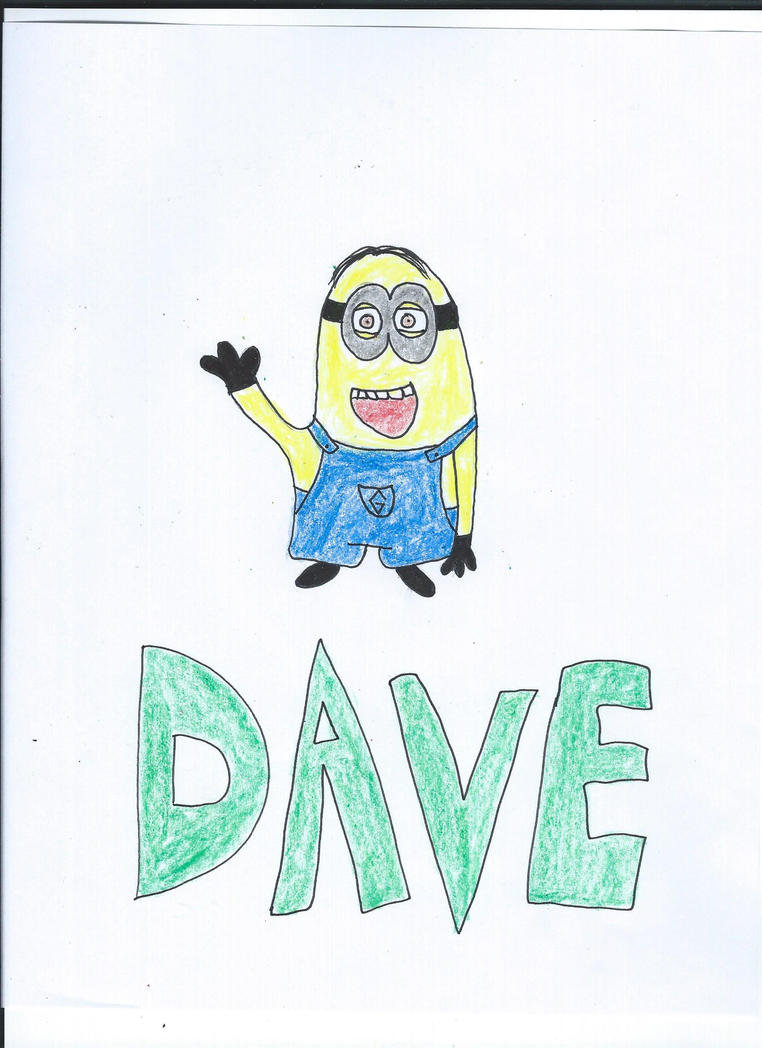 Dave Drawing by NickelodeonLover