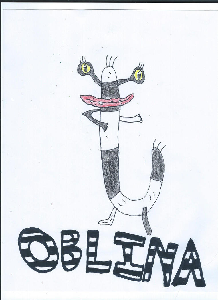 Oblina Drawing by NickelodeonLover