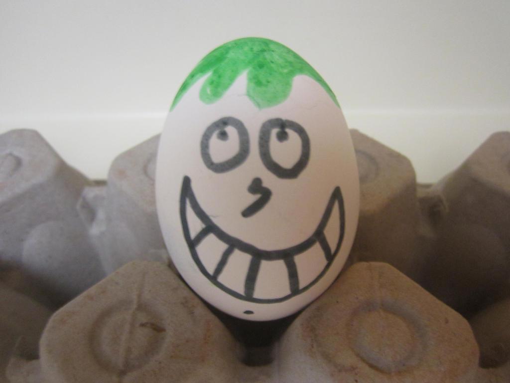 Me Getting Slimed Easter Egg by NickelodeonLover