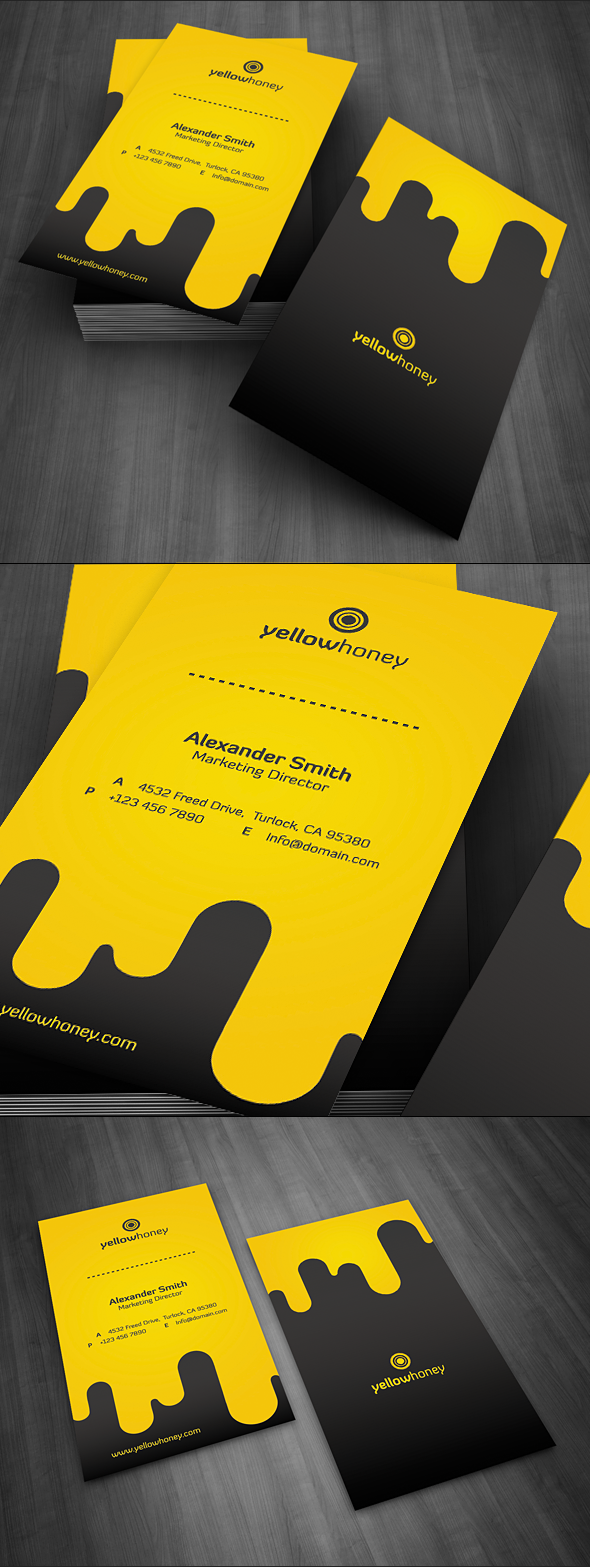Droppy Business Card