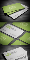 Modern Business Card by FlowPixel