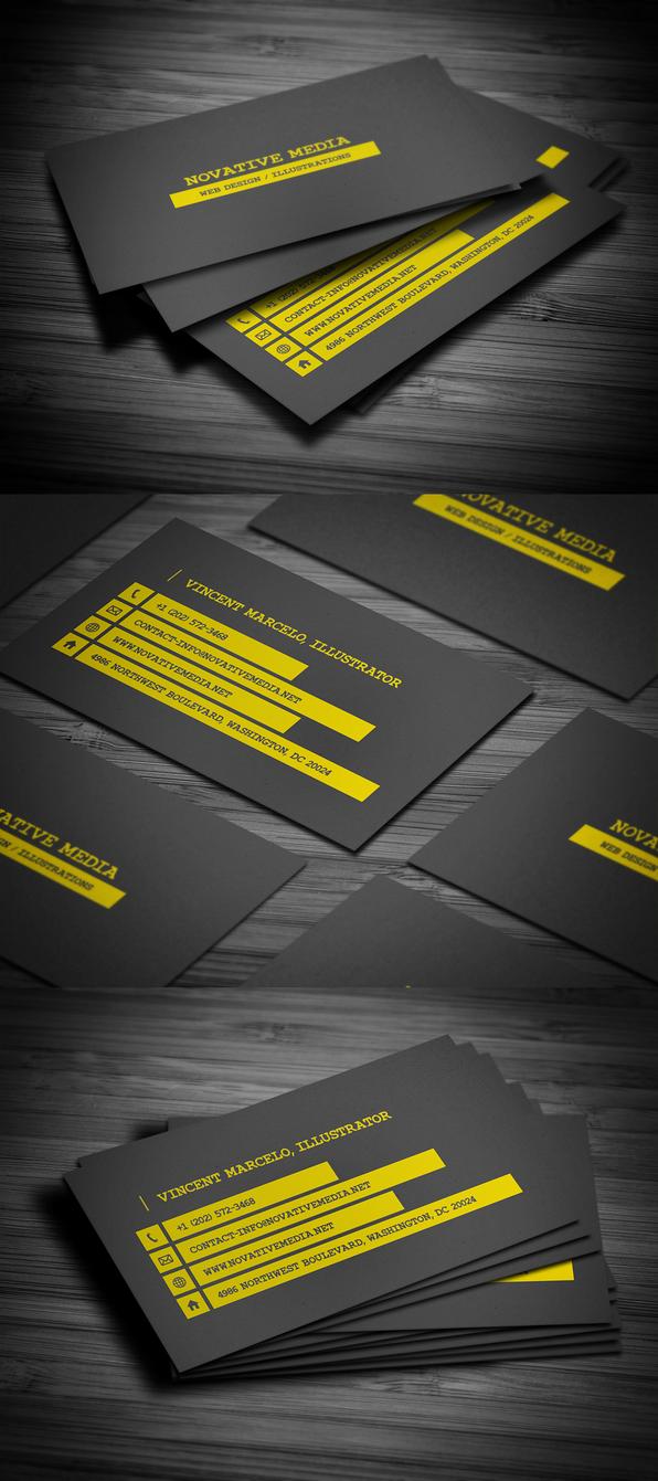 Smart Business Card by FlowPixel