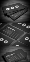 Social Business Card by FlowPixel