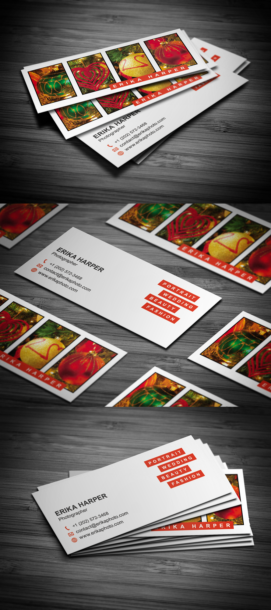 Slim Photography Business Card