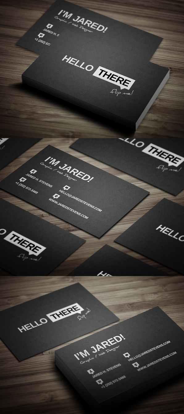 Creative personal business card by flowpixel on deviantart creative personal business card by flowpixel colourmoves Image collections