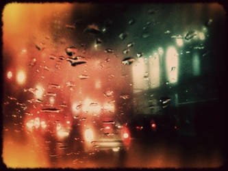 Rainy Night by viewfinder