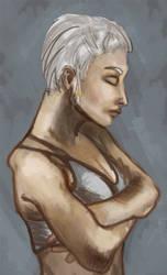 handmaiden sketch by cranjery