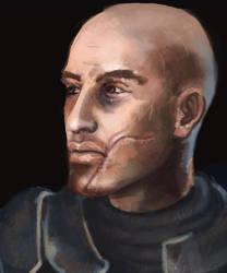john shepard portrait by cranjery