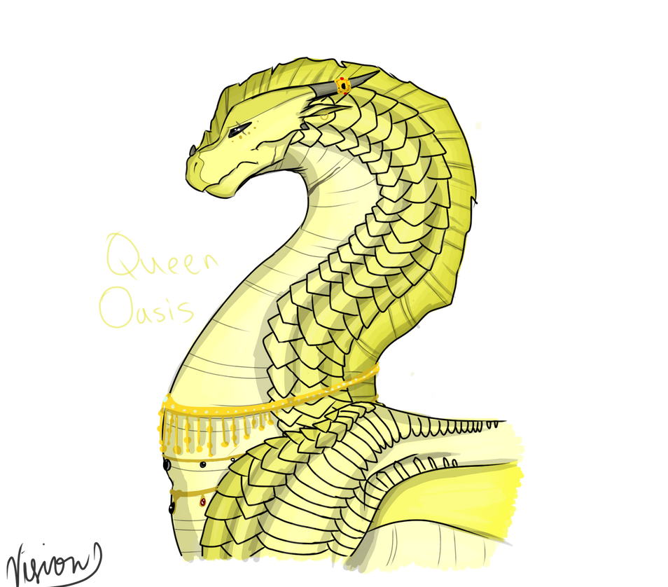 D.a.d Queen Oasis - day 13 by Vision-Seeker