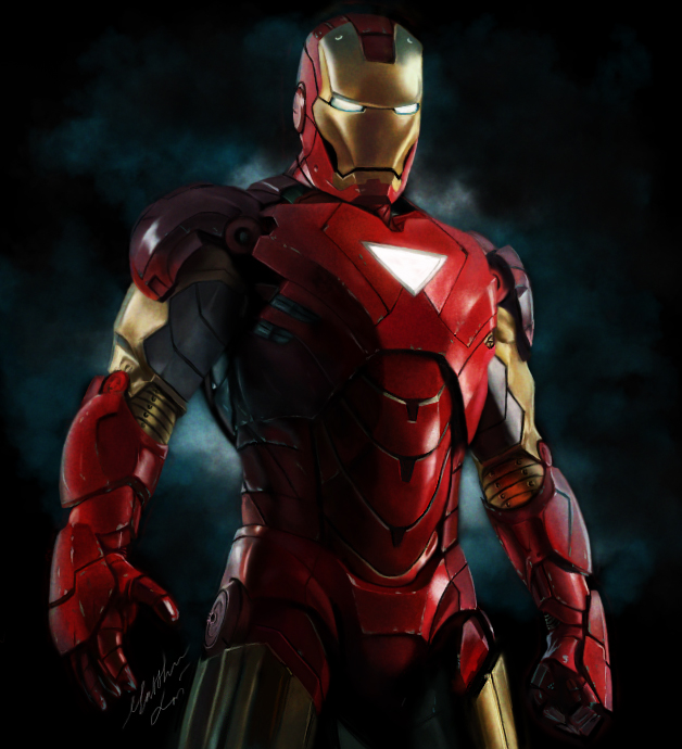 Iron Man 2 art by Bya-Bya