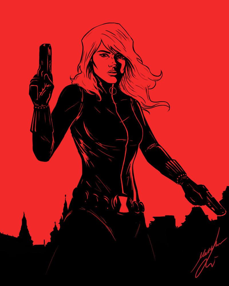 Black Widow by Bya-Bya