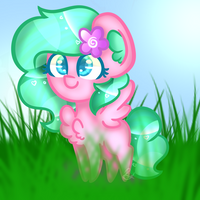 [Gift] Party Blossom - chibi by Flutterpie-007