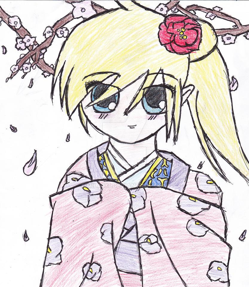 Konichiwa Blossums by Mila137