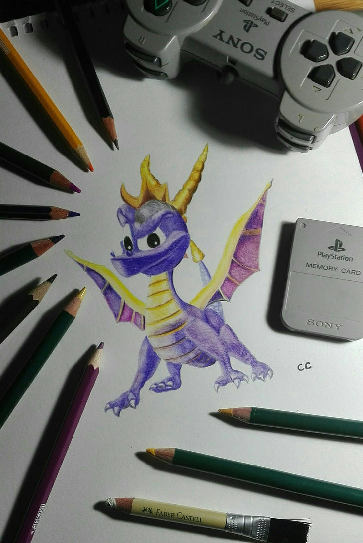 Spyro by backtotheheART