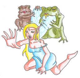 fairy under attack by milkjunkie