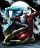 Dante and Vergil in Hell Redux