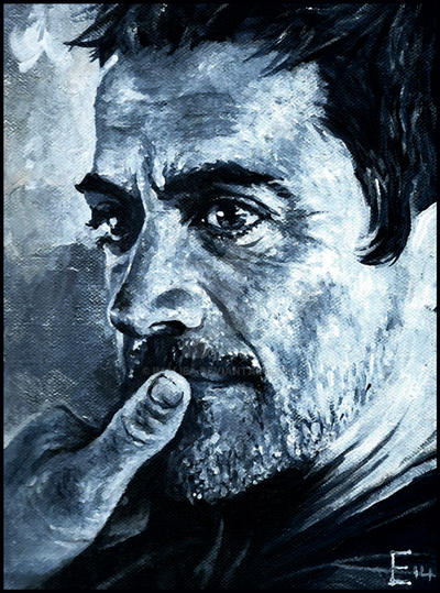 Study of Robert Downey Jr by Imaliea