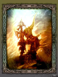 Fantasy Warrior by temesi