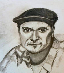 Mike Patton pencil sketch
