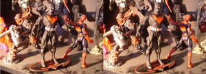 StereoScopic Action Figures by ShadowMaginis