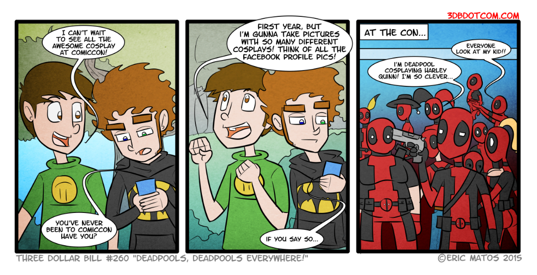 Deadpools, Deadpools Everywhere by ShadowMaginis