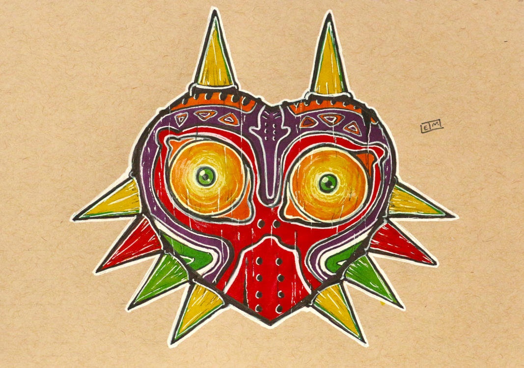 Majora's Mask by ShadowMaginis