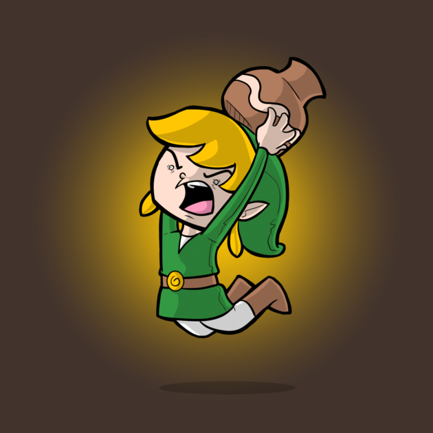 Link Hates Pots by ShadowMaginis