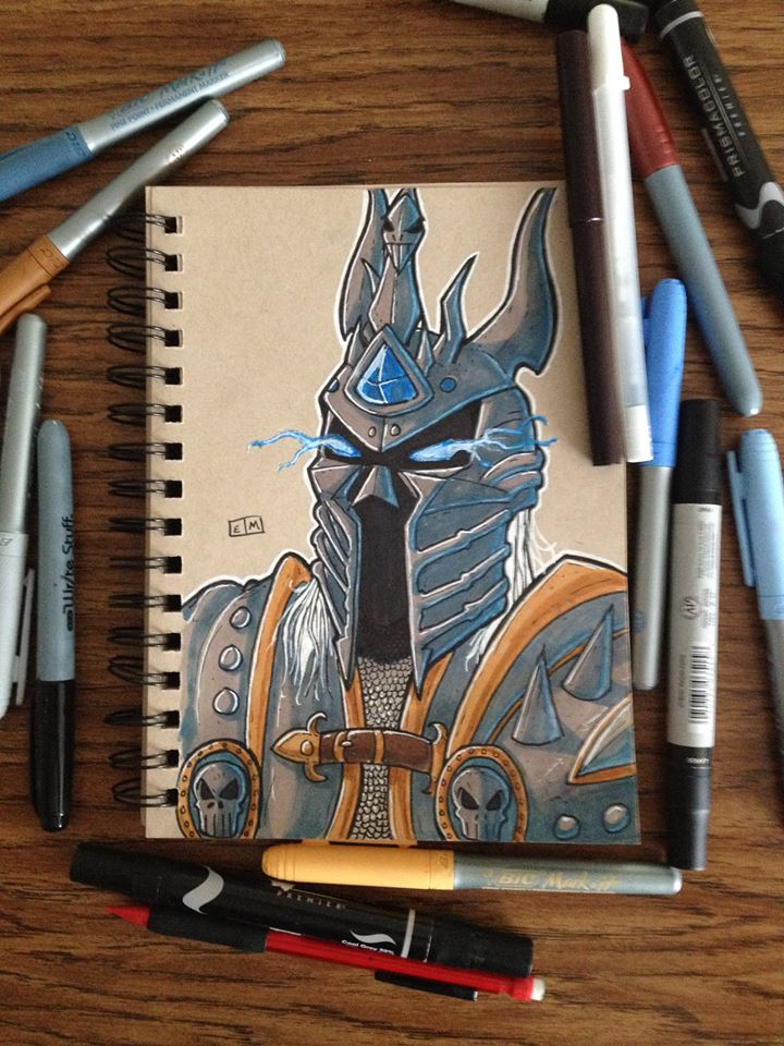 The Lich King by ShadowMaginis