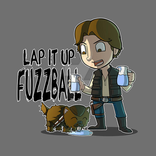 Lap It Up Fuzzball by ShadowMaginis