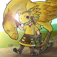 Chocobo Porter by ShadowMaginis