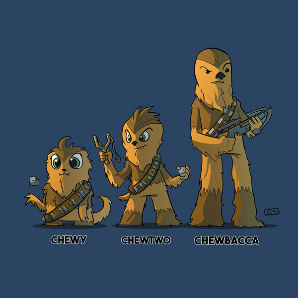 Chewbaccamon by ShadowMaginis