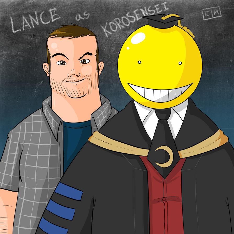 Lance as Korosensei by ShadowMaginis
