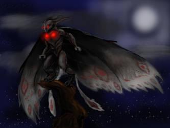 Mothman by Lonestarnoctus123