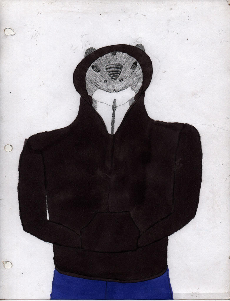 WIP: Zokar in a hoodie by lectraplayer