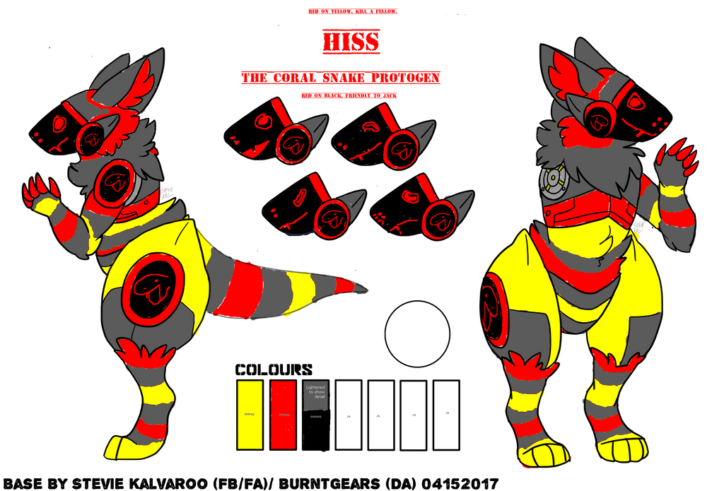 Hiss-the-protogen by lectraplayer
